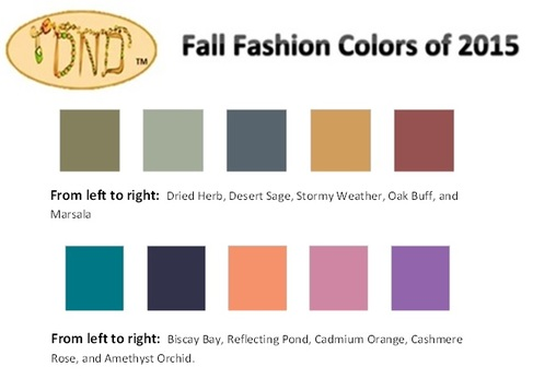 fAll fashioncolors2015